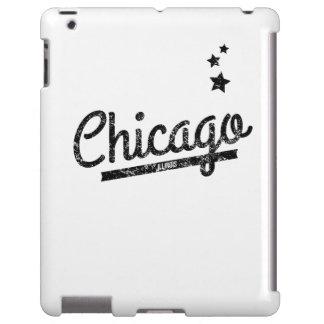 Distressed Retro Chicago Logo