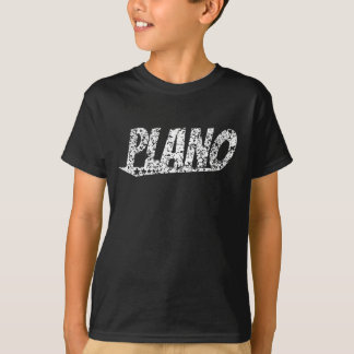 Distressed Retro Plano Logo T-Shirt