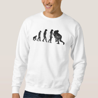 Distressed Rugby Tackle Evolution Sweatshirt
