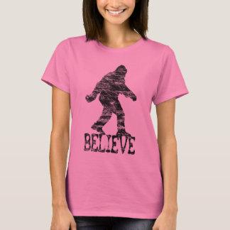 "Distressed Sasquatch ""BELIEVE"" T-shirt"