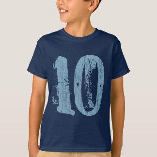 DISTRESSED STYLE NUMBER 10 T-Shirt