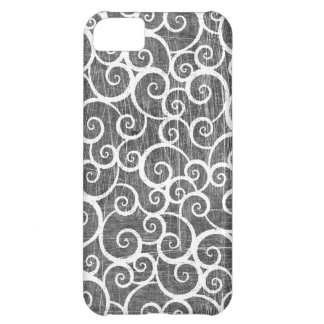 Distressed Swirls iPhone 5C Covers