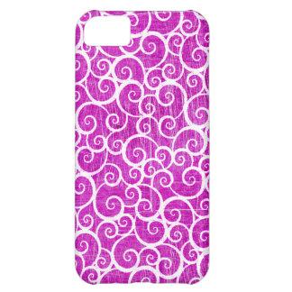 Distressed Swirls iPhone 5C Case