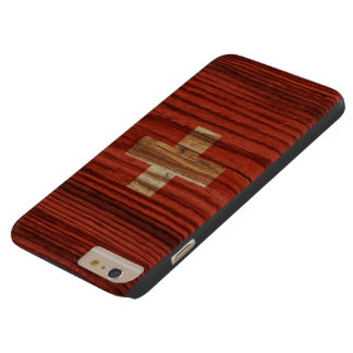 Distressed Switzerland Flag Barely There iPhone 6 Plus Case