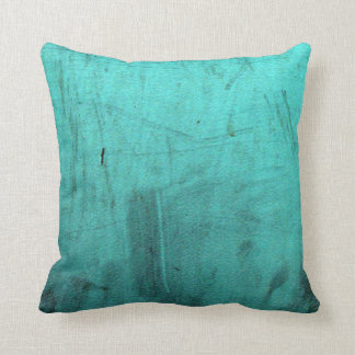 Distressed Teal Pattern Pillows