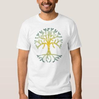Distressed Tree VII T Shirt