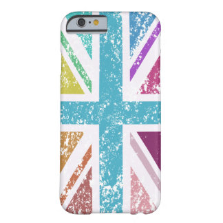 Distressed Union Flag Multicolored Barely There iPhone 6 Case
