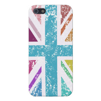 Distressed Union Flag Multicolored Case For iPhone 5/5S