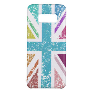 Distressed Union Flag Multicolored Case-Mate Samsung Galaxy S8 Case