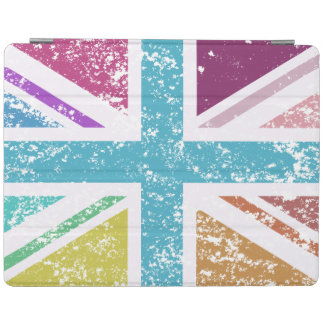 Distressed Union Flag Multicolored iPad Cover