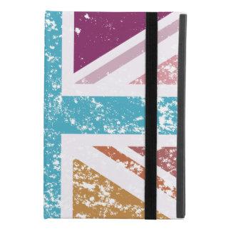 Distressed Union Flag Multicolored iPad Mini 4 Case