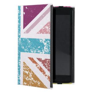 Distressed Union Flag Multicolored iPad Mini Case