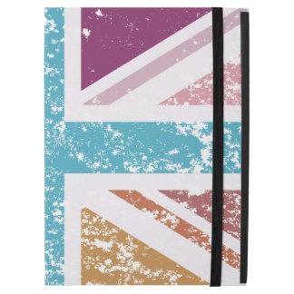 "Distressed Union Flag Multicolored iPad Pro 12.9"" Case"