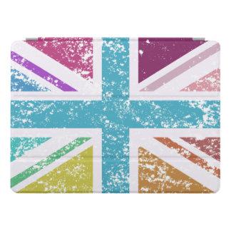 Distressed Union Flag Multicolored iPad Pro Cover