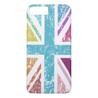 Distressed Union Flag Multicolored iPhone 8 Plus/7 Plus Case