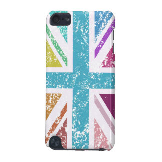 Distressed Union Flag Multicolored iPod Touch 5G Case