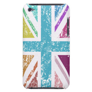 Distressed Union Flag Multicolored iPod Touch Case-Mate Case