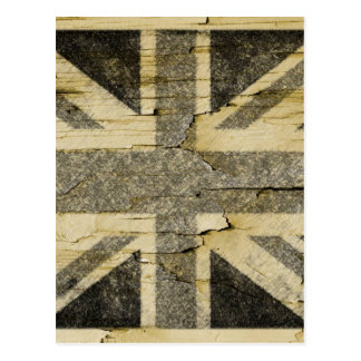 Distressed Union Flag Post Cards