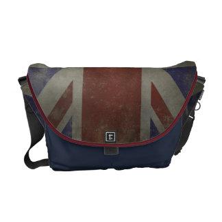 Distressed Union Jack Courier Bag