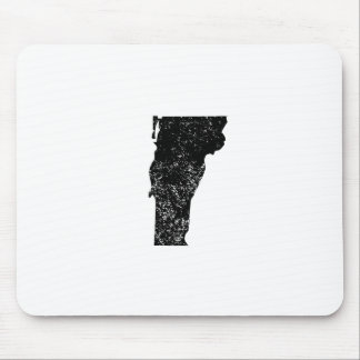 Distressed Vermont Silhouette Mousepad