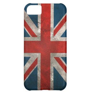 Distressed Vintage Classic British Union Jack flag iPhone 5C Cover