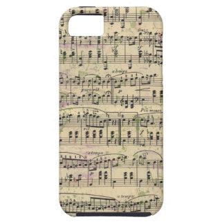 Distressed Vintage Music iPhone Case