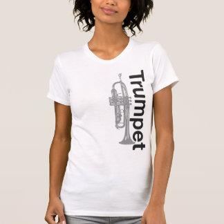Distressed Womens Trumpet Shirt
