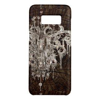 Distressed Wood Grain country Vintage Chandelier Case-Mate Samsung Galaxy S8 Case