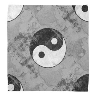 Distressed Yin Yang Bandana