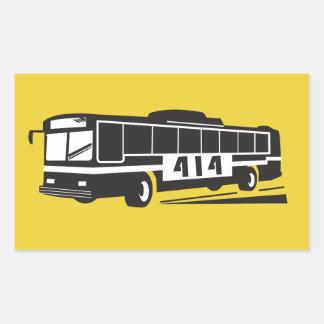 District 414 Bus Driver Sticker