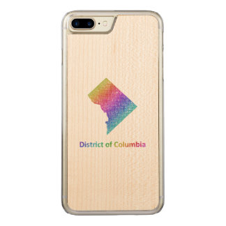District of Columbia Carved iPhone 7 Plus Case