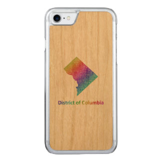 District of Columbia Carved iPhone 8/7 Case