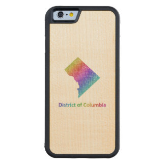 District of Columbia Carved Maple iPhone 6 Bumper Case