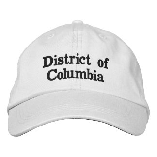 District of Columbia Embroidered Baseball Caps
