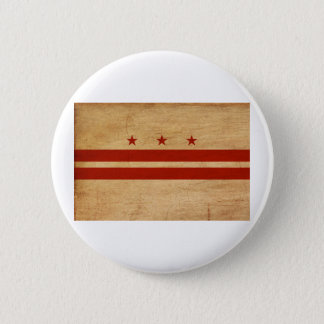 District of Columbia Flag Buttons