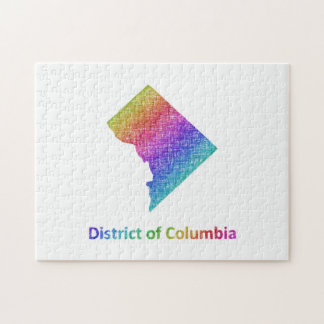 District of Columbia Jigsaw Puzzle