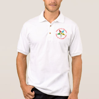 District of Columbia Order of the Eastern Star Shi Polo Shirt