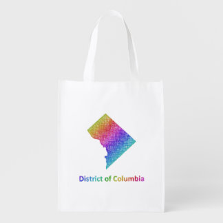 District of Columbia Reusable Grocery Bag