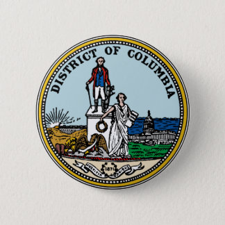 District of Columbia Seal 2 Inch Round Button