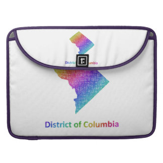 District of Columbia Sleeve For MacBooks