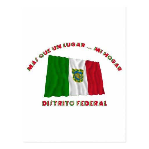 Distrito Federal - Más Que un Lugar ... Mi Hogar Post Card