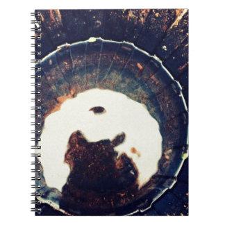 Disturbed waters notebook