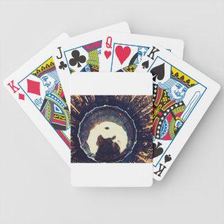 Disturbed waters poker deck