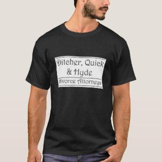 Ditcher, Quick & Hyde - white T-Shirt