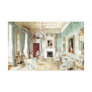 Ditchley Park  - Alexandre Serebriakoff Canvas Print