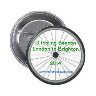 Ditchling Beacon - London to Brighton 2014 Badges