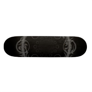 Dither Black Circle Skate Board