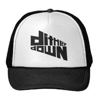 Dither Down Mesh Hat