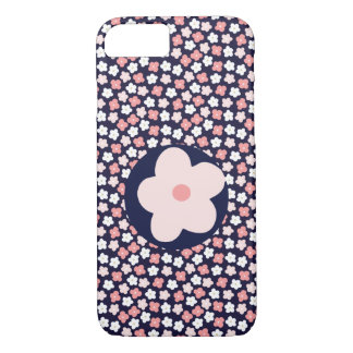 Ditsy Floral Meadow on Bright Navy Case-Mate iPhone Case