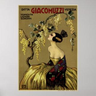 Ditta Giacomuzzi Venezia Poster